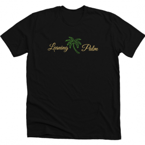 Leaning Palm Script T-Shirt - Spring:Summer 2019